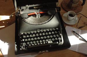 Gilles Labarthe, la machine à écrire